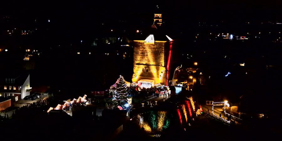 Weihnachtsmarkt am Festungsturm vom 13. bis 15. Dezember
